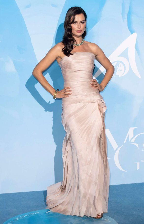 Catrinel Marlon Pics 2019 Gala for the Global Ocean in Monte-Carlo