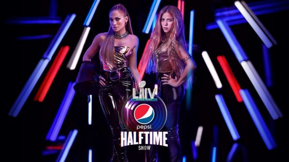 Jennifer Lopez and Shakira 2019 Pics Promotional pictures for the NFL Super Bowl LIV