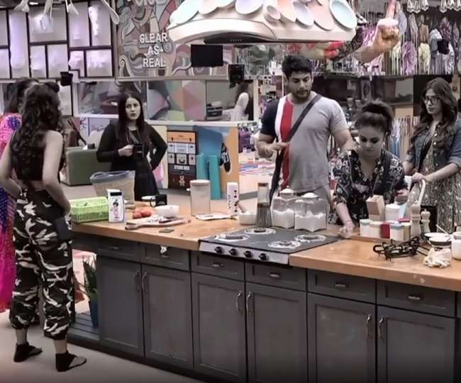 Bigg Boss 13 The contest is gradually becoming interesting at home, know- how was the 10th day