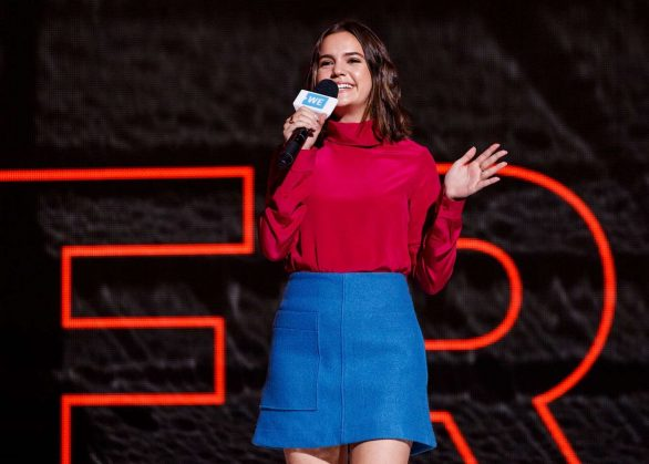 Bailee Madison best behind the scenes moments from 'WE Day Vancouver' 2019