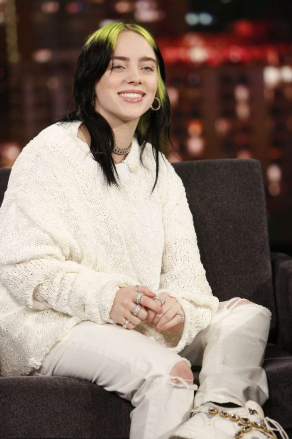Billie Eilish on Jimmy Kimmel Live Show in LA