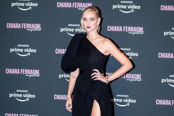 Chiara Ferragni's Chain Sandals Look Like Jewelry on Her Very Own Red Carpet