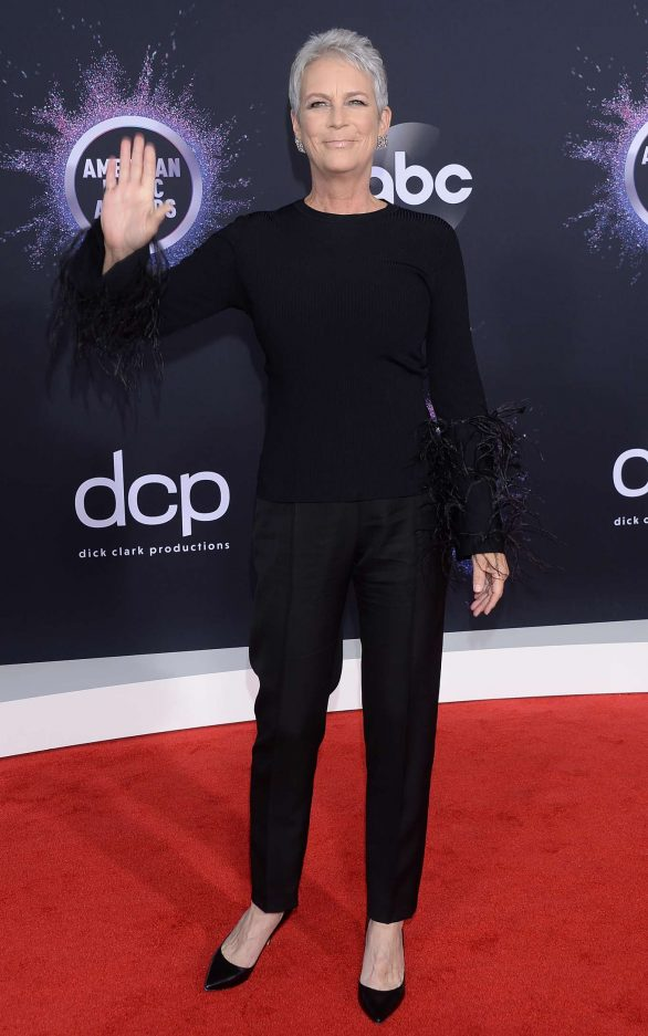 Jamie Lee Curtis Hits the Red Carpet at American Music Awards 2019