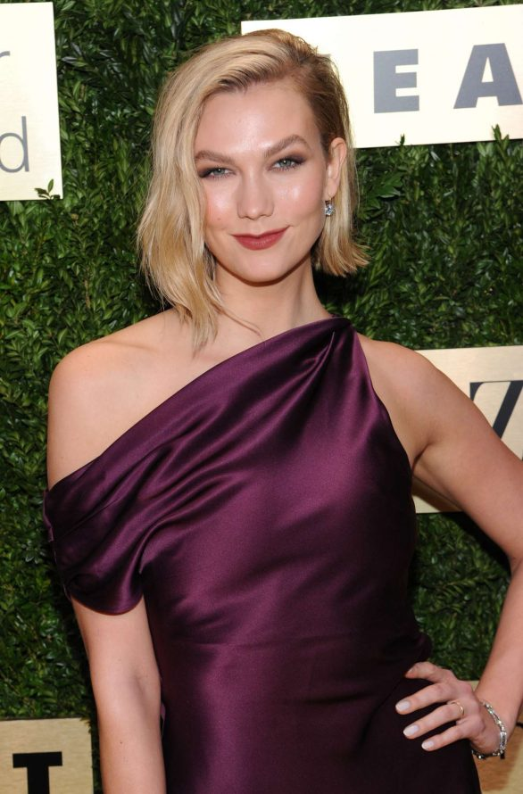 karlie kloss attends the lincoln center corporate fashion fund gala in new york city