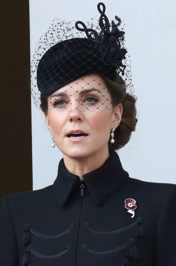 Kate Middleton Pics (2019) – Attends the annual Remembrance Sunday Memorial in London