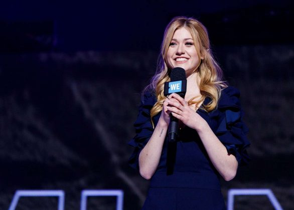 Katherine McNamara Photos for 'WE Day Vancouver' at Rogers Arena in Vancouver