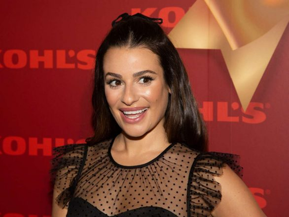 Lea Michele 2019 Pics Kohl's 'New Gifts at Every Turn' Holiday Shopping Event in New York 04