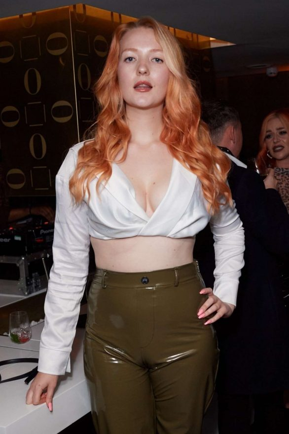 Victoria Clay attends Salon 64's Club 64 Launch Party in London, UK