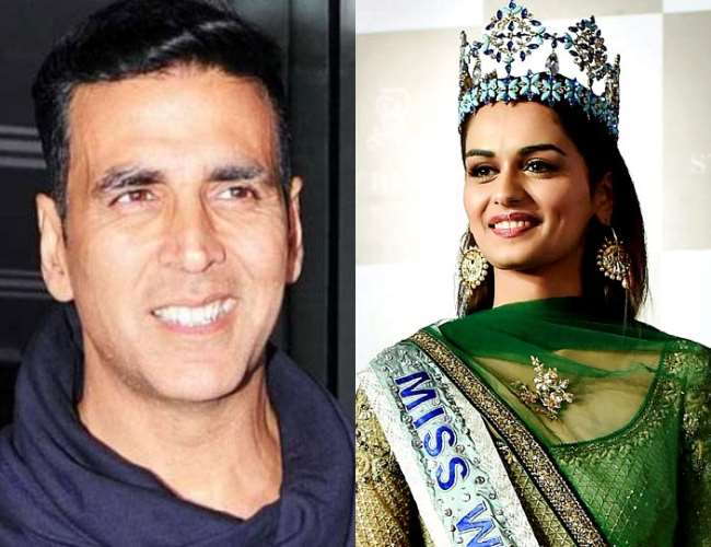 WATCH Akshay Kumar starts shooting for 'Prithviraj' with pooja recitation, shows coincidental Manushi Chillar