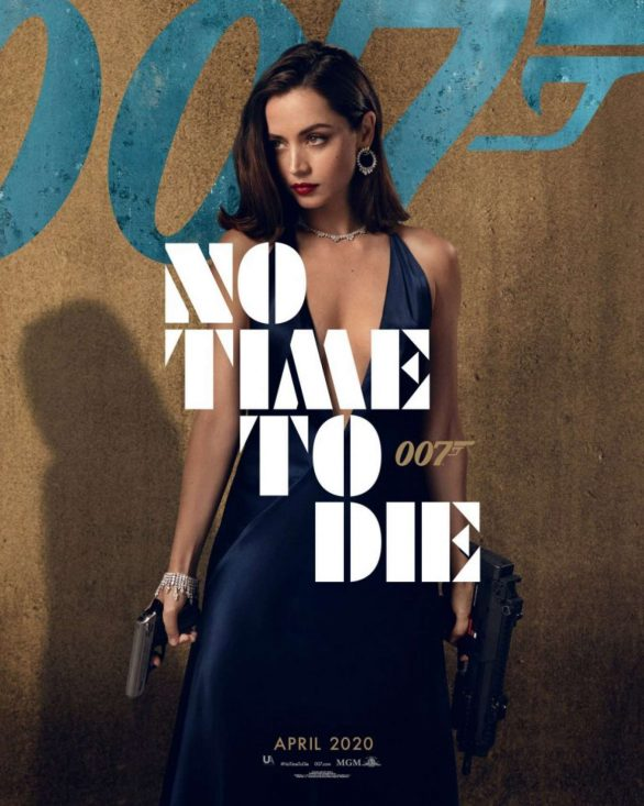Ana De Armas Pics at 'No Time to Die' Promotional Poster 2020