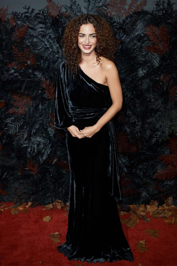 Anna Shaffer At The Witcher Premiere in London