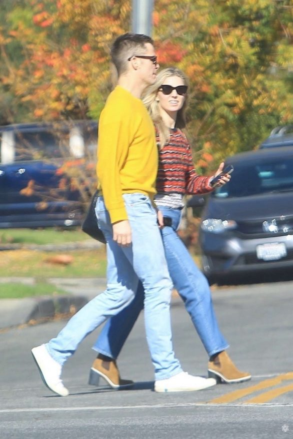 Annabelle Wallis and Chris Pine Pics While Out in Hollywood