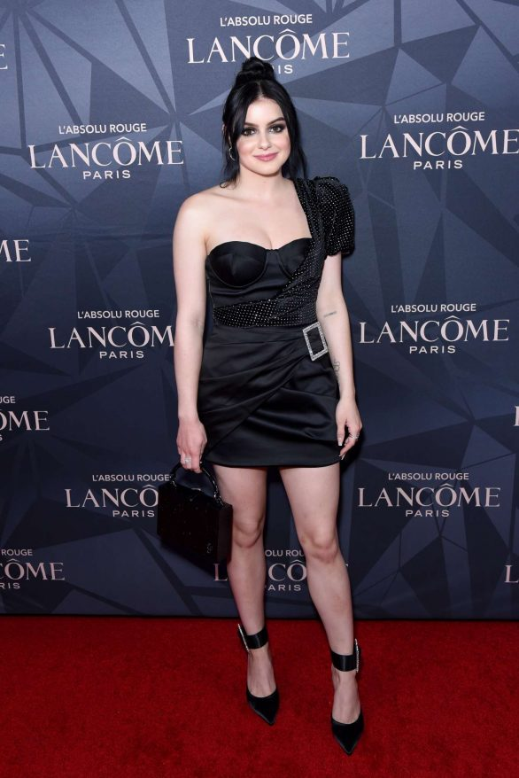 Ariel Winter Pics at Lancome x Vogue L'Absolu Ruby Holiday Event in West Hollywood