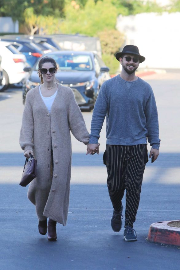 Ashley Greene and Paul Khoury Photos while Shopping in West Hollywood