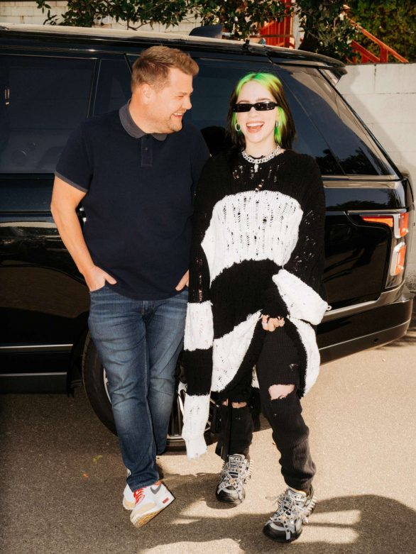 Billie Eilish – Carpool Karaoke With James Corden Promotional Photos