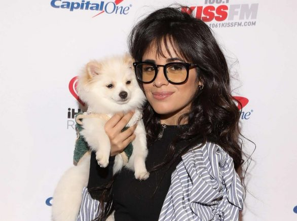 Camila Cabello Attends the 106.1 KISS FM's iHeartRadio Joingle Ball at Dickies Arena in Dallas