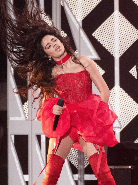 Camila Cabello Pics while Performs at 2019 KIIS FM's iHeartRadio Jingle Ball in Inglewood