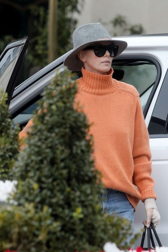 Charlize Theron Pics Out in Los Angeles
