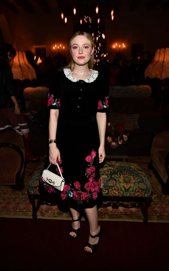 Dakota Fanning At 'Eat The Sun' by Floria Sigismondi book party at Chateau Marmont