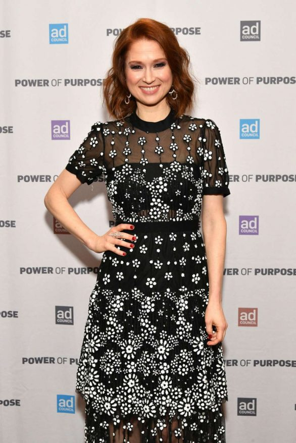 Ellie Kemper At 2019 Ad Council Dinner in NYC