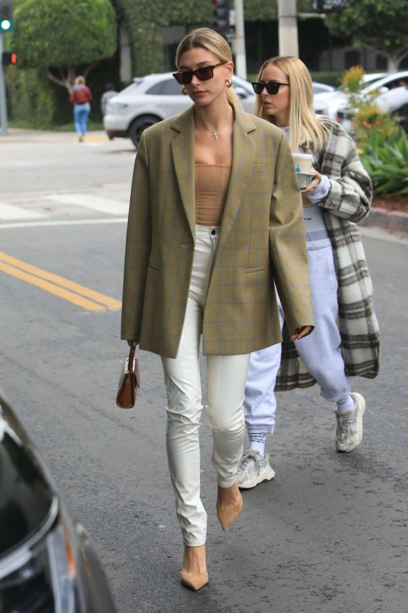 Hailey Bieber Seen in West Hollywood