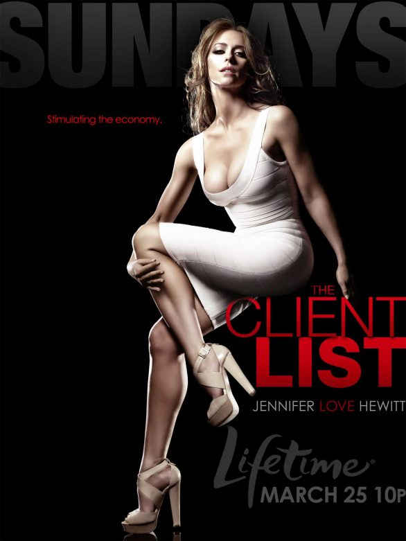 Jennifer Love Hewitt At The Client List Promo Posters 2011