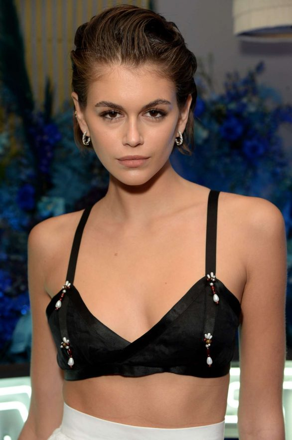 Kaia Gerber Pics at Fenty Party in London