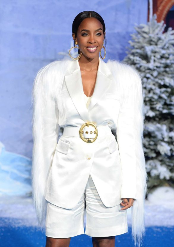 """Kelly Rowland At Premiere Of Sony Pictures' """"Jumanji: The Next Level"""" in Hollywood"""