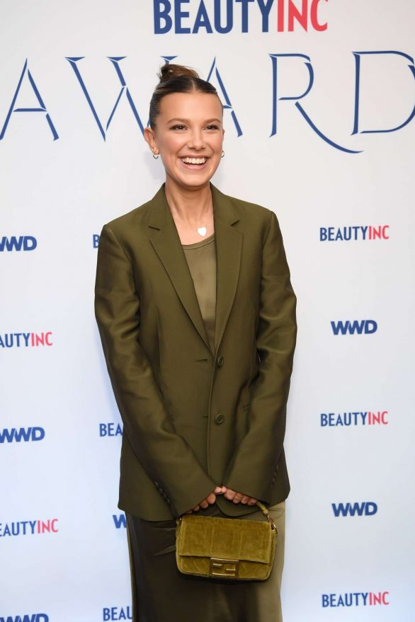 Millie Bobby Brown 2019 Pics At WWD Beauty Inc Awards in New York City