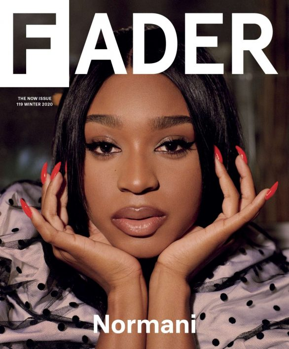 Normani Photoshoot for Fader Magazine (Winter 2020)