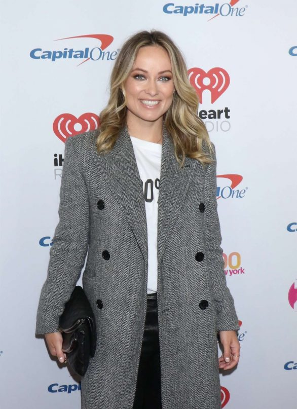 Olivia Wilde attends the iHeartRadio's Z100 Jingle Ball 2019 at Madison Square Garden in New York City