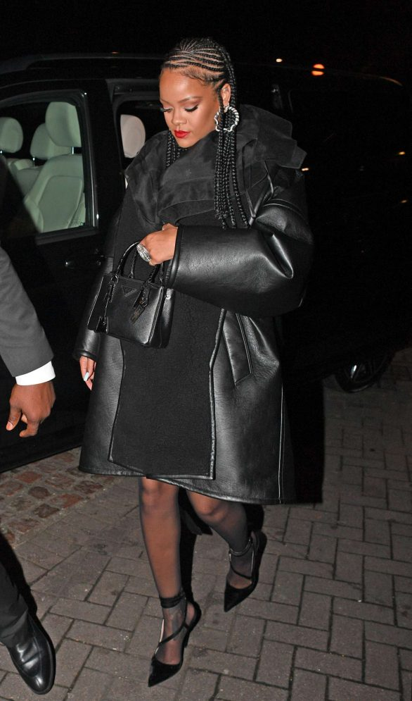 Rihanna Pics while Arriving at Laylow Nightclub in London