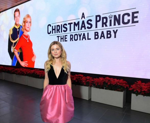 """Rose McIver and Ben Lamb attend a Cast and Crew Screening of """"A Christmas Prince: The Royal Baby"""" at NETFLIX on December 02, 2019 in Los Angeles, California"""