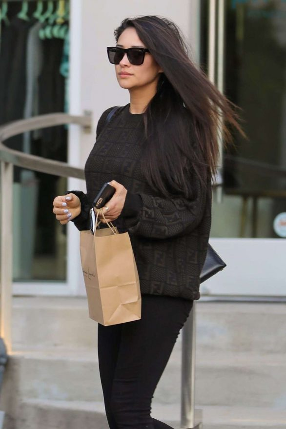Shay Mitchell Pics At Runnung errands in West Hollywood