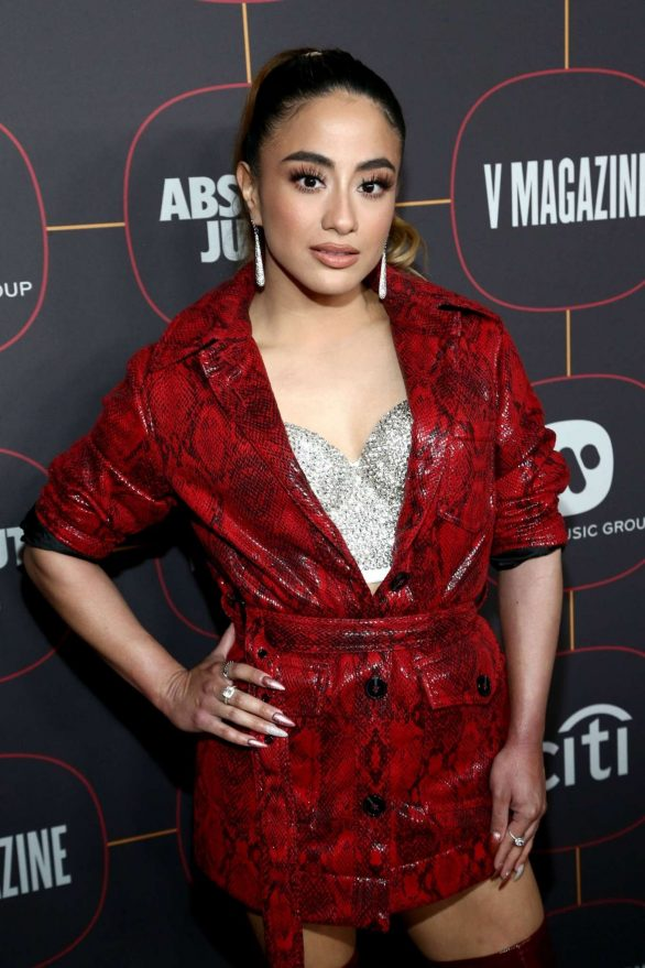 Ally Brooke Attends Warner Music Group Pre Grammy Party 2020 in Hollywood