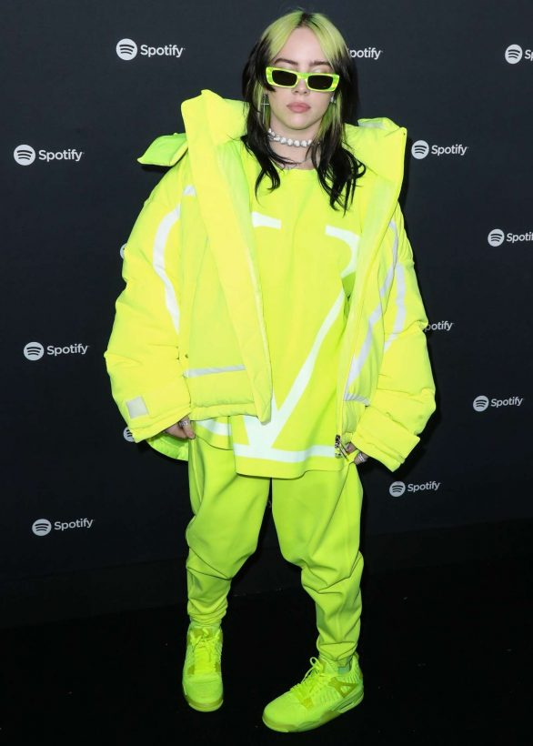 BILLIE EILISH at Spotify Hosts Best New Artist Party in Los Angeles