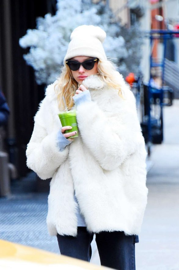 Elsa Hosk out in SoHo, New York