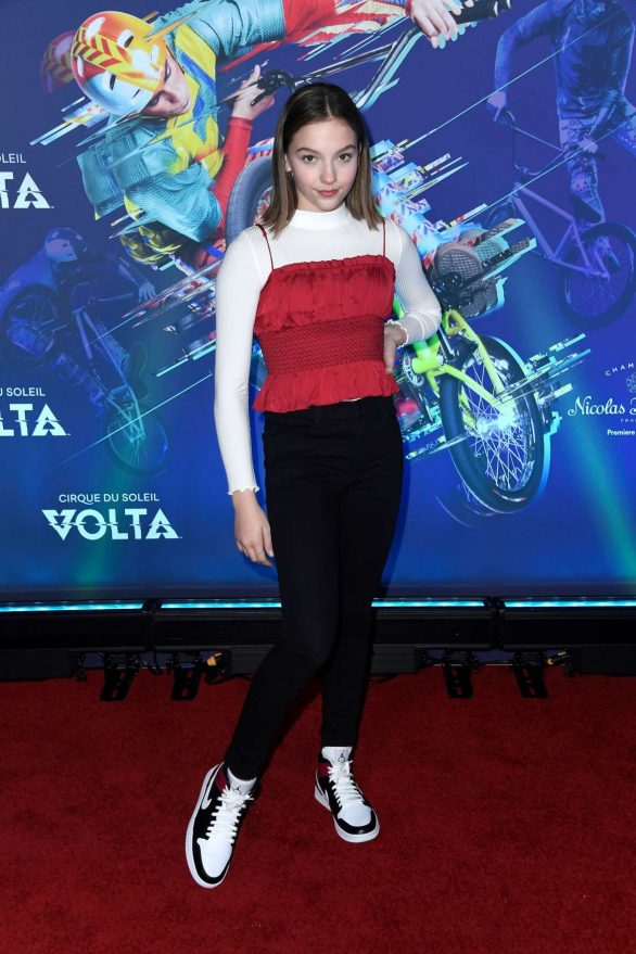 Jayden Bartels Pics At Cirque du Soleil 'Volta' Premiere in Los Angeles