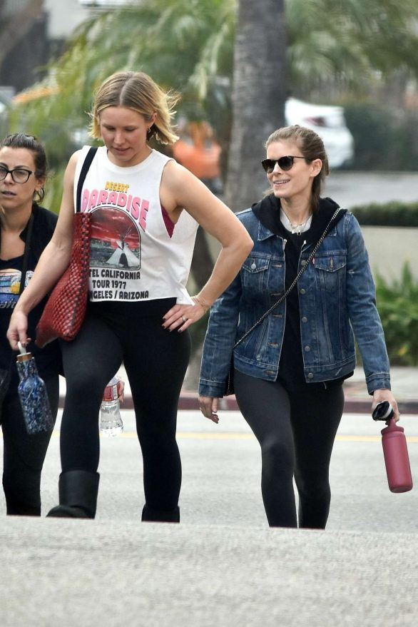Kate Mara & Kristen Bell Hit the Gym Together for a Workout!