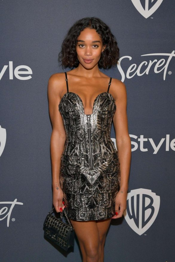 Laura Harrier In Louis Vuitton @ 2020 InStyle And Warner Bros. Golden Globe Awards After-Party