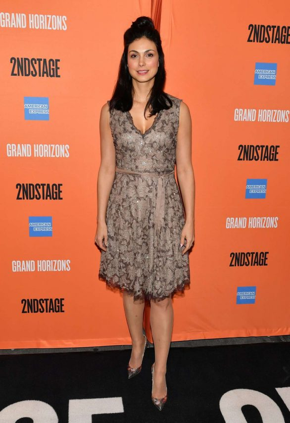Morena Baccarin At 'Grand Horizons' Opening Night in NYC