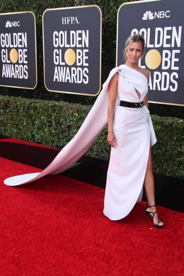 Renee Bargh At 77th Annual Golden Globe Awards in Beverly Hills
