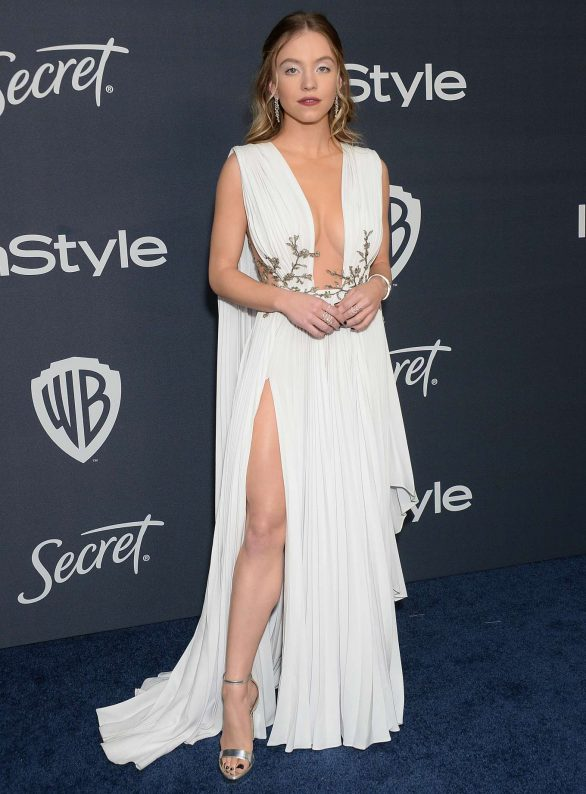 Sydney Sweeney In Paolo Sebastian @ 2020 InStyle And Warner Bros. Golden Globe Awards After-Party