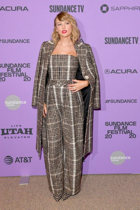 Taylor Swift Pics At 'Miss Americana' Premiere in Park City