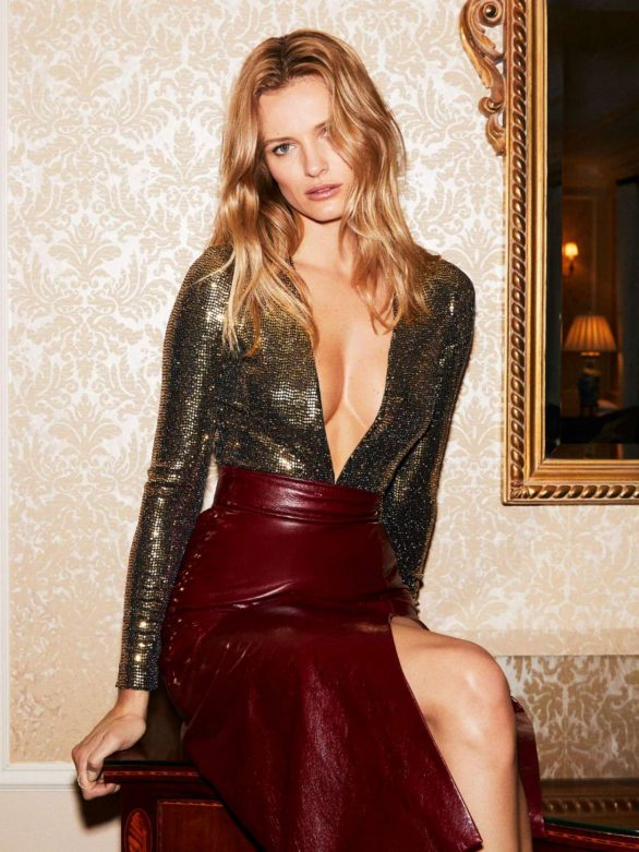Edita Vilkeviciute Photoshoot for The Edit by Net-A-Porter (February 2020 issue)