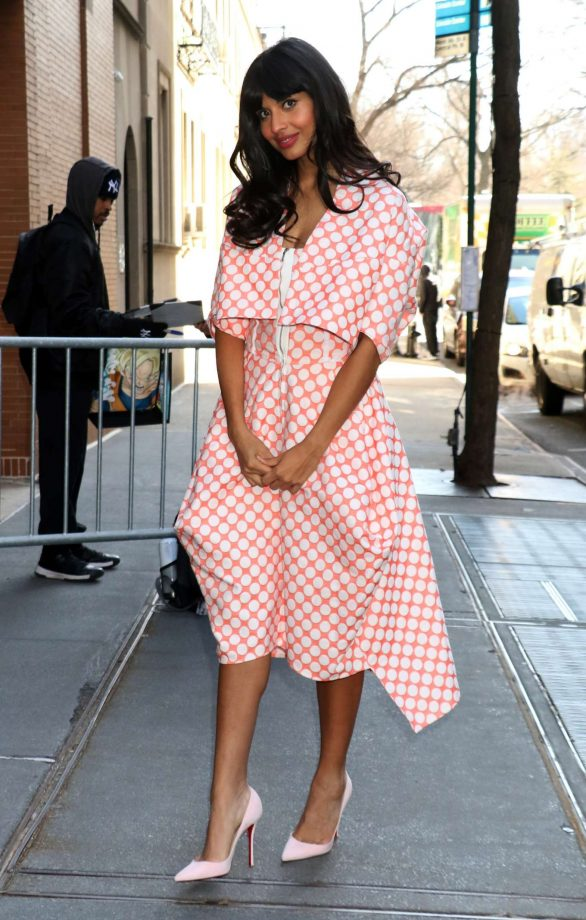 Jameela Jamil Photos At 'The View' TV show in New York