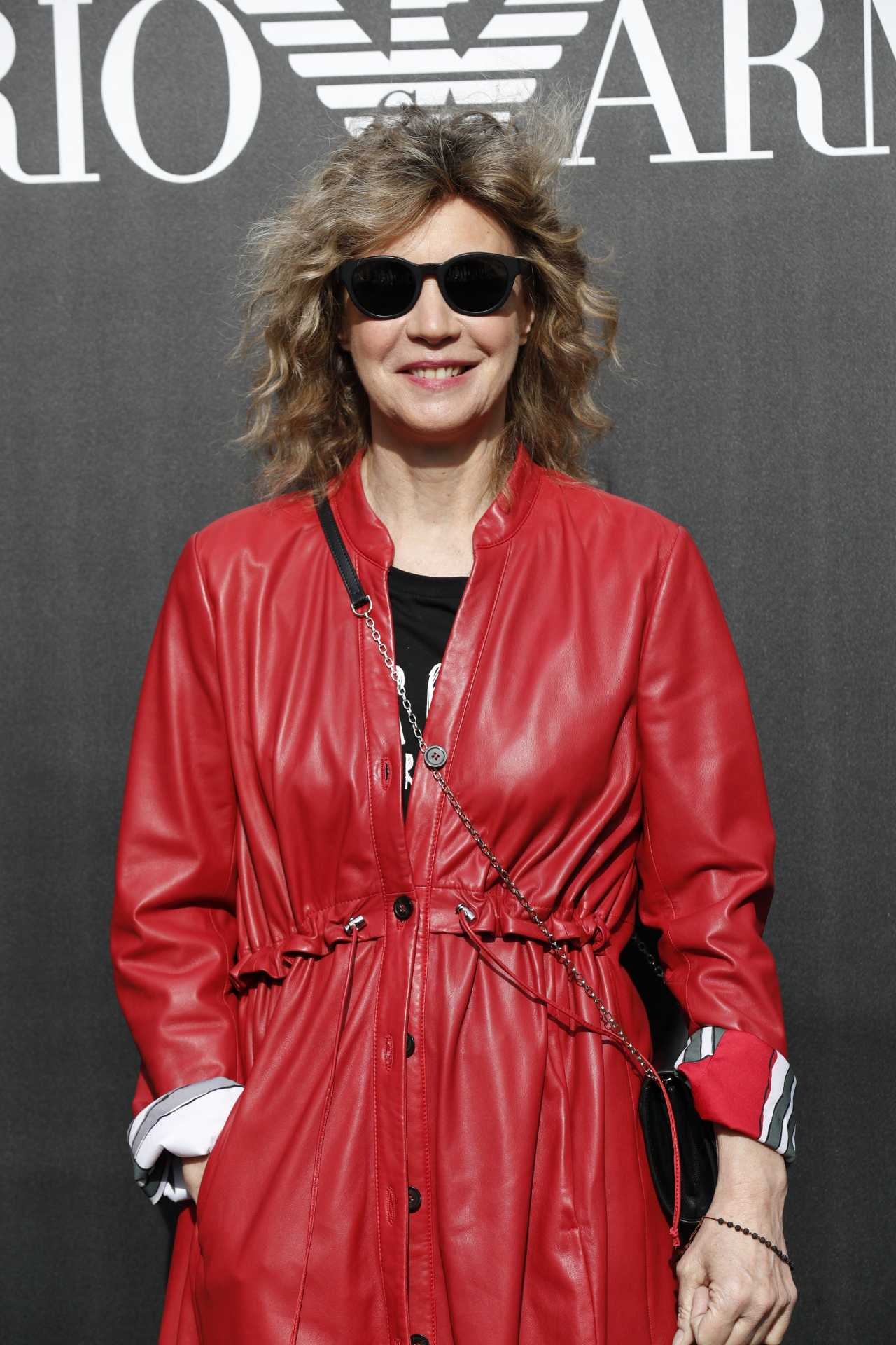 Margherita Buy attending the photocall ahead of Emporio Armani show during Women's Milan Fashion Week Fall-Winter