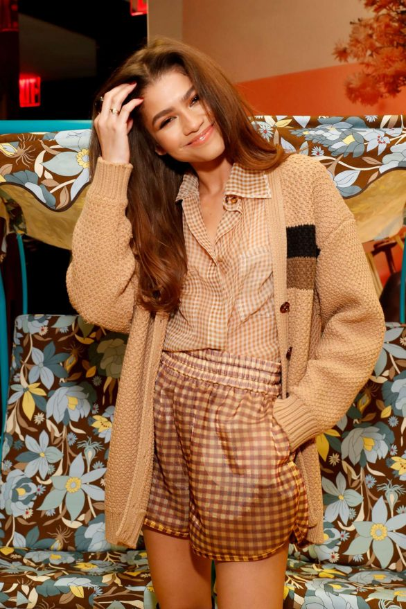 Zendaya Coleman Wore Fendi To The Launch Of Solar Dream by Fendi