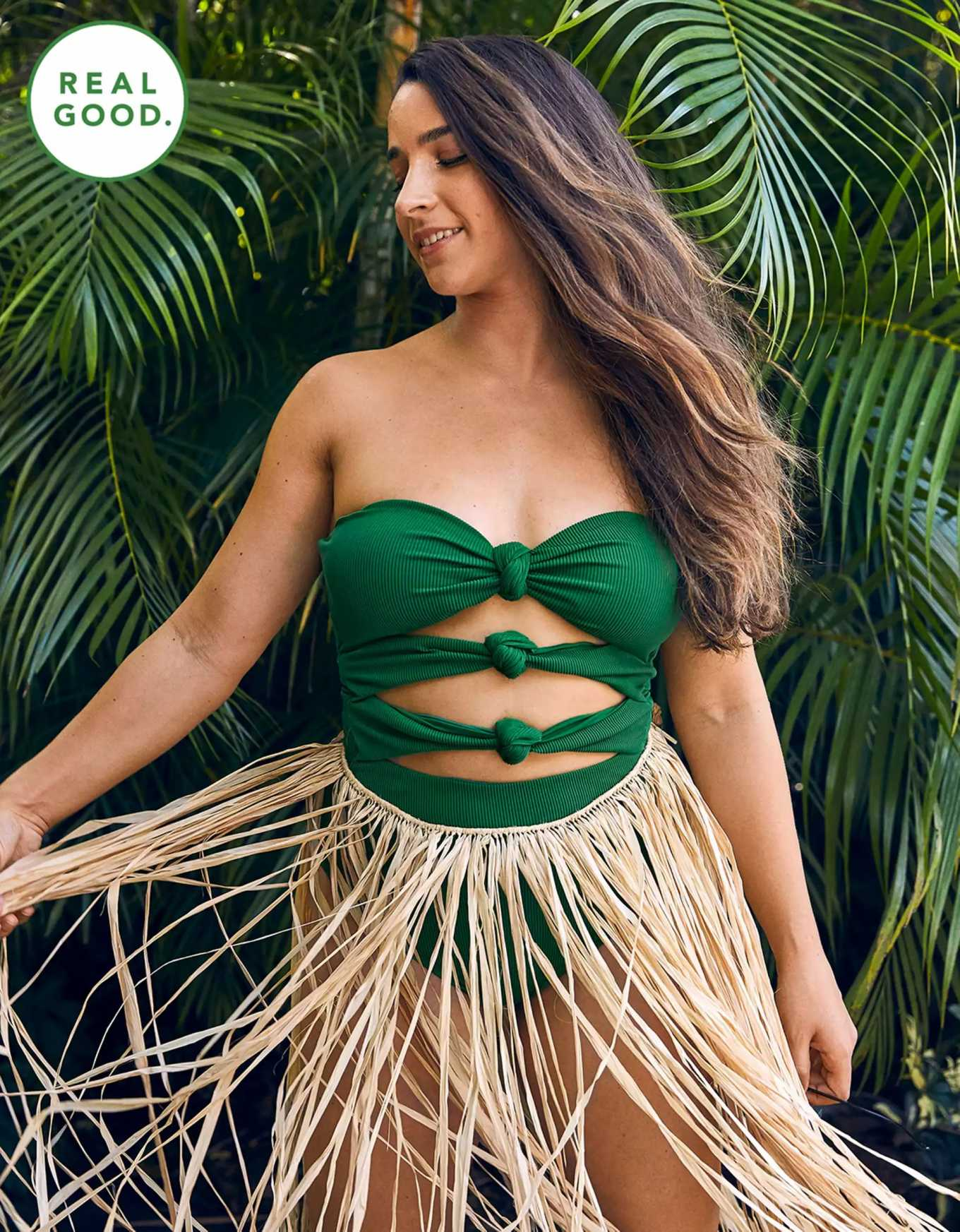 Aly Raisman for Aerie's Real Good Swimsuit Collection (March 2020)