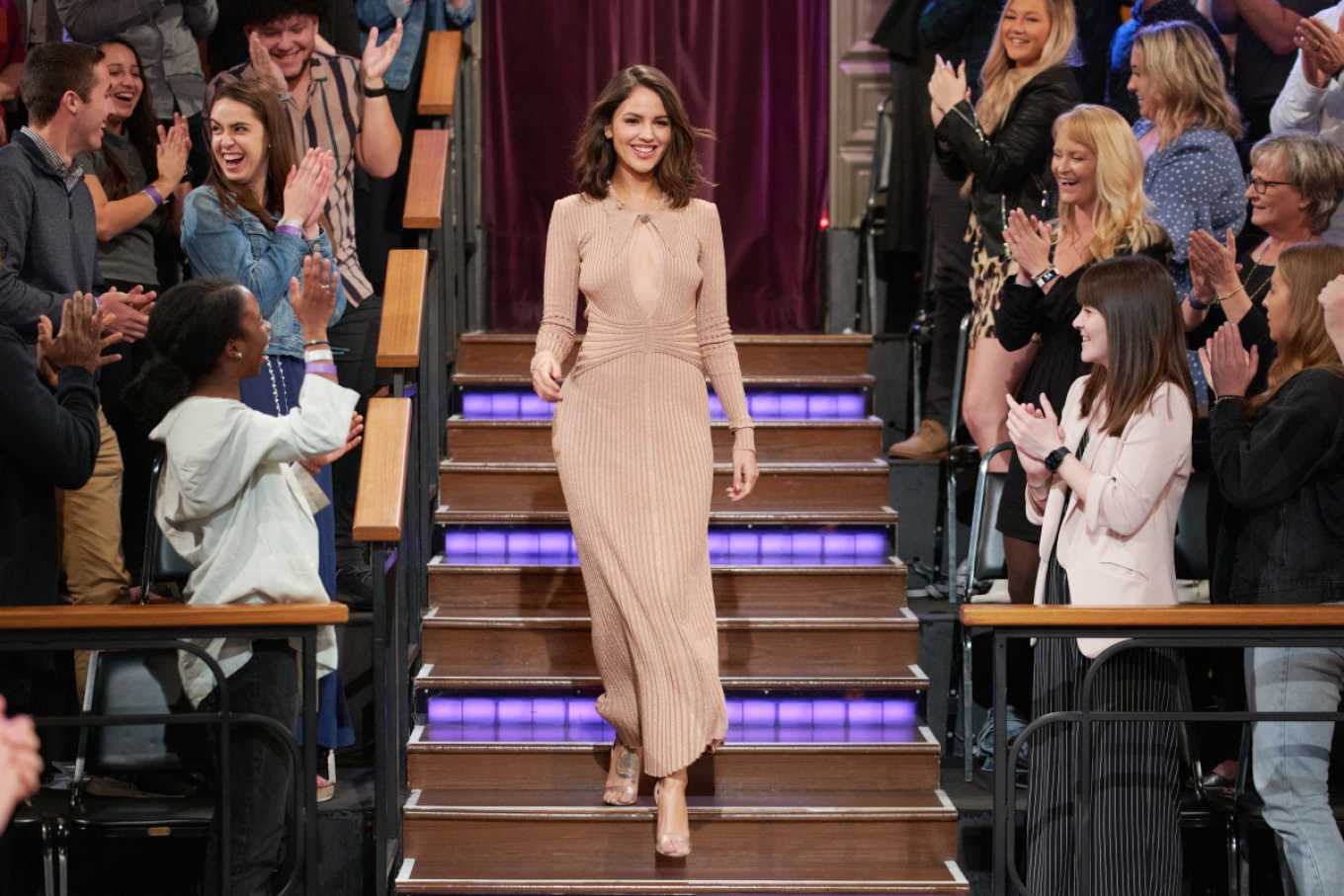 Eiza Gonzalez At The Late Late Show with James Corden in LA